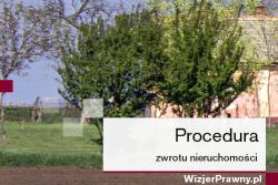 Procedura zwrotu nieruchomości