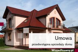 Umowa przedwstępna sprzedaży domu